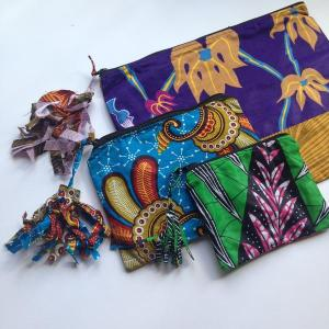 Tasseled Pouches